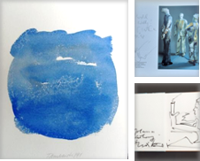 Bücher mit Handzeichnungen Sammlung erstellt von Jürgen Noffz