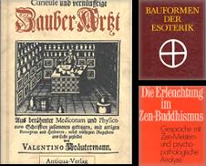 Geheimwissenschaften Sammlung erstellt von Antiquariat Alte Seiten Göttingen