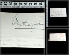 Autogramme & Autographen (Adel) Sammlung erstellt von Phoenix Antiquariat & Autographen