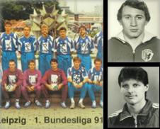 Autogrammkarten Handball Sammlung erstellt von Versandantiquariat Höbald