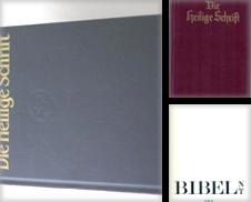 Bibeln Sammlung erstellt von Antiquariat in Buch