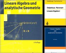 Algebra & Zahlentheorie Sammlung erstellt von Versandantiquariat Felix Mücke
