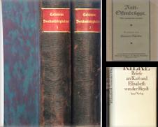 Autobiographien, Tagebücher und Briefe Sammlung erstellt von Antiquariat Halkyone