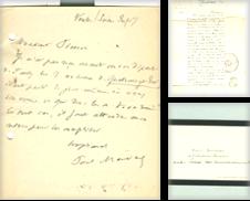 Autographes & Documents Proposé par Librairie Ancienne René Vernet