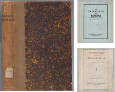 Auction Catalogue Curated by Colophon Book Shop, ABAA