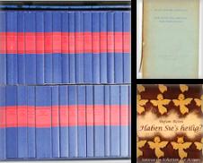 Belletristik Sammlung erstellt von Melzers Antiquarium