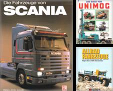 Automobil, Lastkraftwagen und Nutzfahrzeuge Sammlung erstellt von Antiquariat Torsten Bernhardt eK