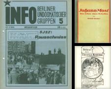 Anarchismus Sammlung erstellt von Anti-Quariat (Inh. Udo Koch)