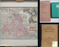 Atlanten Karten Sammlung erstellt von Antiquariat Hardner