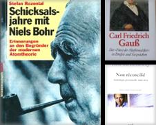 Biographie Sammlung erstellt von Akademische Buchhandlung Woetzel