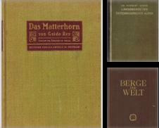 Alpinismus Sammlung erstellt von Antiquariat Appel - Wessling