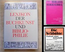 Buchwesen Sammlung erstellt von Antiquariat BücherParadies