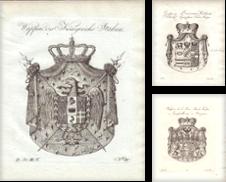 Genealogie/ Heraldik erstellt von Carl Adler's Buch- und Graphikkabinett