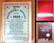 Astrologie Sammlung erstellt von Versandantiquariat Harald Gross