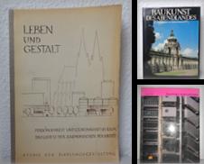 Architektur Sammlung erstellt von Buch- und Kunstantiquariat Thümbal