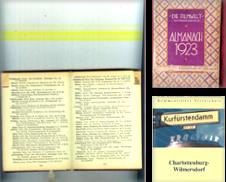 Adreß (und Telefonbücher) Curated by Klaus Kreitling