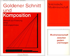 38. Musikwissenschaft Sammlung erstellt von Musikalien Petroll
