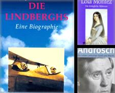 Biographien Sammlung erstellt von Buchhandlung Gerhard Höcher