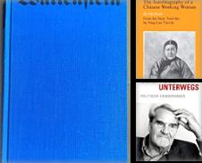 Autobiographie Sammlung erstellt von HJP VERSANDBUCHHANDLUNG