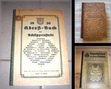 Adressbücher Sammlung erstellt von Antiquariat Hauck - Preise inkl. Mwst.