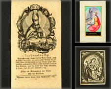 Andachtsbilder, Santini, Holy cards Sammlung erstellt von Antiquariat Wolfgang Friebes