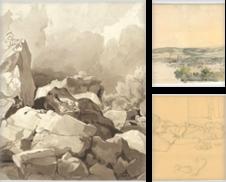 Zeichnungen und Aquarelle (19 Jahrhundert / Drawings and watercolours 19th century) erstellt von Galerie Joseph Fach GmbH