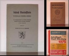 Franconica Sammlung erstellt von Antiquariat suum cuique