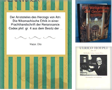 Buchwesen Sammlung erstellt von Matthaeus Truppe Antiquariat