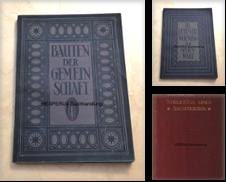 Architektur/ Architekturgeschichte Sammlung erstellt von HESPERUS Buchhandlung & Antiquariat