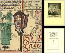 Ephemera Sammlung erstellt von Stader Kunst-Buch-Kabinett ILAB