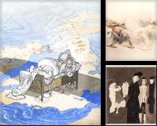 SIMPLICISSIMUS & JUGEND Sammlung erstellt von Kunkel Fine Art