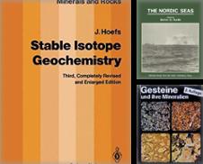 31 Geowissenschaften Sammlung erstellt von Antiquariat Bücherwurm