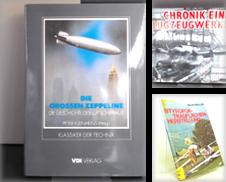 Aeronautik, Luftfahrt, Fliegerei Sammlung erstellt von Kelifer - antiquarischer Buchversand