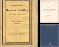 Altphilologie Sammlung erstellt von Antiquariat Tautenhahn