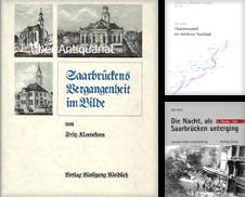 Saarland Sammlung erstellt von Antiquariat Mang