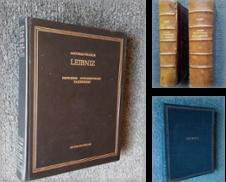 Leibniz Sammlung erstellt von Librairie Philosophique J. Vrin
