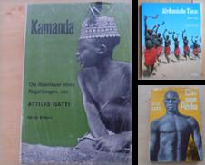 Afrika Sammlung erstellt von Antiquariat Rohde