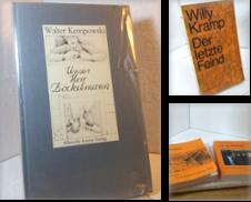Autogramme Sammlung erstellt von EuropaBuch Antiquariat & Buchhandel