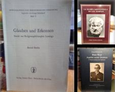 Philosophie erstellt von Antiquariat Thomas Nonnenmacher