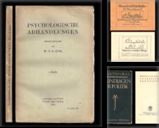 Anthropologie Sammlung erstellt von ANTIQUARIAT KREUSSEL