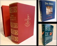 Bibeln Sammlung erstellt von Antiquariat Gertrud Thelen