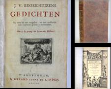 100 (Oudere Ned literatuur) Sammlung erstellt von Antiquariaat Brinkman, since 1954 / ILAB