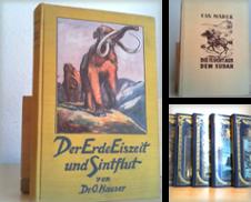 Abenteuerliteratur Sammlung erstellt von Antiquariat im Schloss