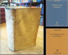 Altertumswissenschaft (Altphilologie) Sammlung erstellt von Antiquariat Bücheretage