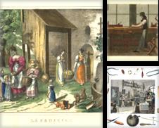 Alte Berufsdarstellungen Sammlung erstellt von Antiquariat Norbert Haas