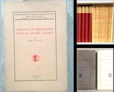 Bibliografía de Librería Sagasta