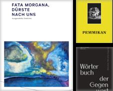 Anthologie Sammlung erstellt von Bunt Buchhandlung GmbH