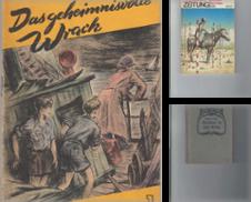 Abenteuerroman Sammlung erstellt von Antiquariat Frank Dahms