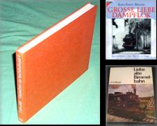 7100 Die 'Altmeister' der Eisenbahn-Rezeption Sammlung erstellt von Antiquariat Dr. Christian Broy