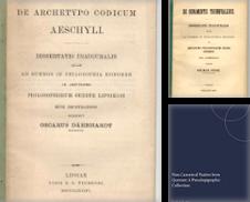 Altertum Sammlung erstellt von Wissenschaftliches Antiquariat Köln